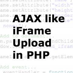 Ajax like PHP Upload